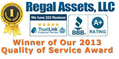 regal assets award